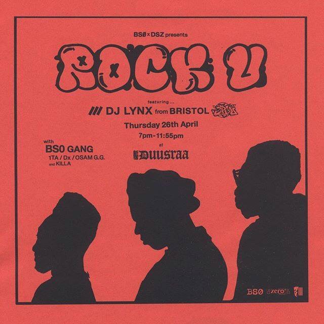 "BS0 x DSZ presents ""ROCK U"""