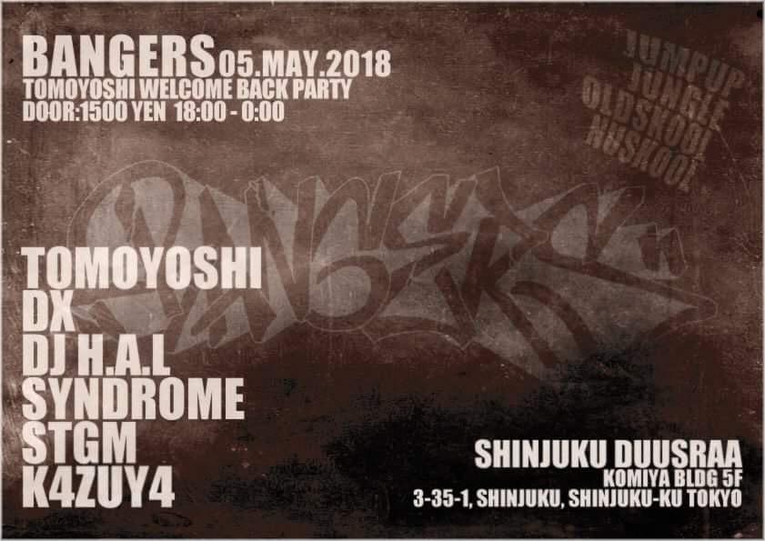 BANGERS – Welcome Back Tomoyoshi –