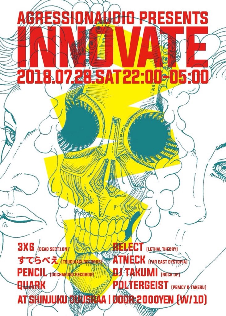 -Aggression Audio presents- INNOVATE