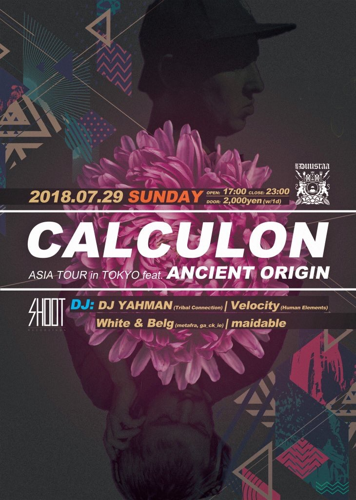 Calculon Asia Tour in Tokyo ft.Ancient Origin